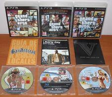 Grand Theft Auto Collection (GTA San Andreas,IV La Edición Completa,V Five) PS3