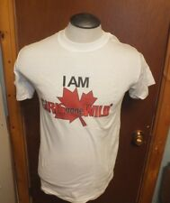 Molson Canadian GIRLS GONE WILD T-Shirt I AM Vintage Tshirt Beer Top Clothing a