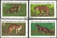 Vietnam 719-722 (kompl.Ausg.) gestempelt 1973 Einheimische Wildtiere