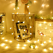 Fairy Lights Tree Garland LED Ball String Waterproof Christmas FREE SHIPPING