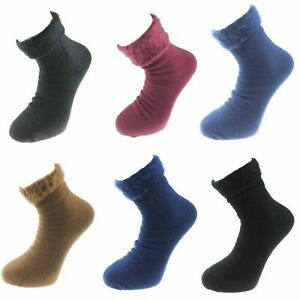 New Mens 1 Pair of Thermal Warm Cosy Feet Brushed Warmth Size UK 6-11 Bed Socks