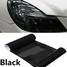30cm x100cm Tail lights Car Vinyl Wrap, DARK Smoke Black Tint Film Headlights US