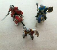 Lot Chevaliers Papo Figurine | Prince Philippe le Rouge | 2 chevaux | 2 Soldats