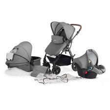 Kombikinderwagen Kinderwagen Kinderkarre Babyschale Kinderkraft Moov 3in1 Set