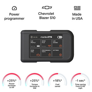 Chevrolet Blazer - S10 smart tuning chip box power programmer performance tuner
