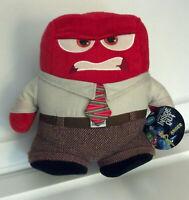 "NWT DISNEY INSIDE OUT ANGER  Plush Stuffed Toy 8"" Original Disney Store New"