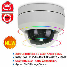 CASPERi 2.0MP Home Security Outdoor HD 1080P PTZ Dome CCTV DVR Camera 4x Zoom UK