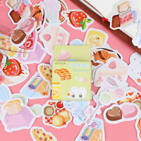 46pcs/box Delicious Food DIY Diary Stickers Paper Labels Gifts Packaging Deco