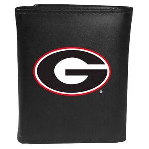 Georgia Bulldogs Tri-fold Wallet, Large Logo