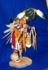"Lg 16"" Cheyenne Dog Soldier Kachina Authentic Native American Hopi / Navajo  #56"