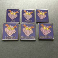 WDW - Hidden Mickey Pin Series III- Lonely Figment ALL 6 Disney Pins 65881 65882
