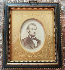 Civil War Era Abraham Lincoln CDV Photo in Antique Frame
