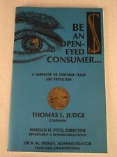 BE AN OPEN-EYED CONSUMER A HANDBOOK ON FRAUD AND PROTECTION