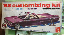 AMT 1963 Mercury Monterey S55 Convertible 3-in-1 Annual Cvt Kit in Box 63