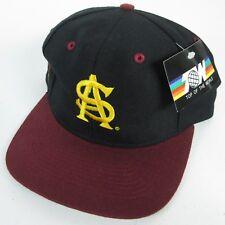 Arizona State ASU Sun Devils Big Script Logo Fitted Hat Ball Cap 7 3/8 TOW New