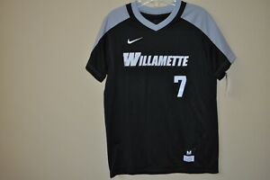 NWT NIKE Boy's Black / Gray Sport Willamette 7 Baseball T-Shirt Size: M