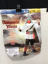 GoodMark Dress Up Assasin Ninja Halloween Costume Boys Large 10-12 pretend play