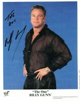 BILLY GUNN WWF 2000 HAND SIGNED AUTOGRAPH 10x8 OFFICIAL PHOTO WWE WRESTLING  COA