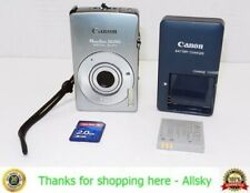 Canon Powershot ELPH SD750 7.1MP Digital Camera, w/ 2GB SD Card【Works】