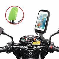 ENONEO Motorcycle Phone Mount Waterproof 360°Rotation Motorbike Phone Holder