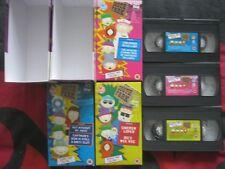 SOUTH PARK - Series 2. Vols 1-3. 3 x VIDEO BOX SET. EAN: 639842697538. 1999.