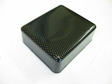 MITSUBISHI  4 5 6  EVO FUSE RELAY BOX LID COVER CARBON FIBER ABS PLASTIC