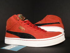 09 PUMA UNDFTD MID UNDEFEATED 24K GOLD PACK RIBBON RED WHITE BLACK 348216-02 9.5