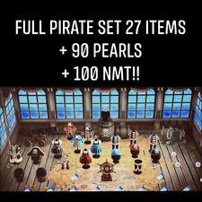 (Online NOW) Animal Crossing:New Horizons Gulliver Pirate Item Full Set!