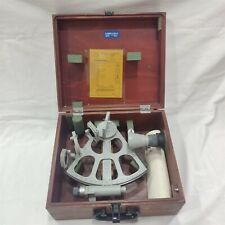 FreiBerger Marine Sextant SrNo: 830805 with User Manual. Made in Germany.