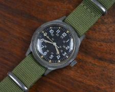 Vintage Benrus Mil-W-46374A US GI Military Issue Plastic Watch July 1975