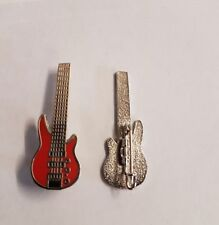 Status Quo Rhino Bass Guitar Badge Enamel Pin Badge
