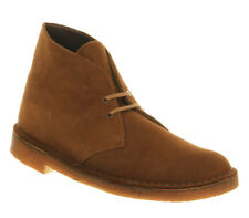 Mens Clarks Originals Tan Suede Lace up Ankle Boots UK Size 7 *Ex Display