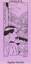 "MINIAC - EX-LIBRIS ""MORT SUR LE NIL"" - AGATHA CHRISTIE (ODZ 1996)"