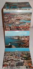 20 CARTOLINE DI SIRACUSA Sicilia Turismo Ricordi Souvenir Cartolina 1968 Viaggi