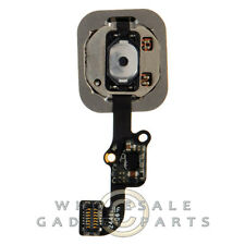 Home Button Assembly for Apple iPhone 6 CDMA GSM Black Push Key Touch Menu Click