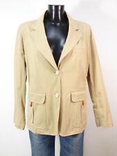 FAY Damen Blazer Jacke Gr 40 DE / Braun Neuwertig Baumwolle ( Q 5424 )