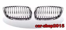 Front Kidney Grille Chrome & Black For BMW E92 E93 328i 335i M3 2DR 2007-2010