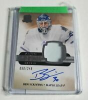 R28,068 - BEN SCRIVENS - 2011/12 THE CUP - ROOKIE AUTOGRAPH PATCH - #90/249 -