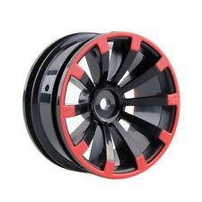 RC 4pcs Wheel Plastic Rim  Fit HSP HPI 1:10 On-Road Racing Car Tires 601A