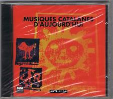 CD (NEUF) MUSIQUES CATALANES D'AUJOURD'HUI SILEX FRANCE