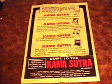 KAMA SUTRA MOVIE POSTER '71 EXPLOITATION