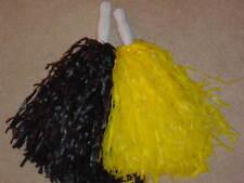 PAIR of CHEERLEADING POM POMS ***Steelers colors***
