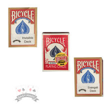 Bicycle Deck Bundle - 1x Stripper Deck 1x Svengali Deck 1x PRO Invisible Deck