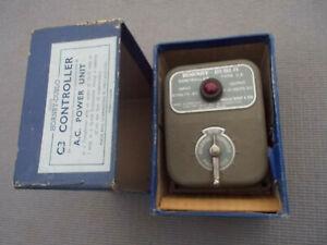 Hornby Dublo controller unit Type C3, input 15 volts AC output 12volts DC, boxed
