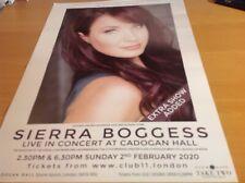 Sierra Boggess , Cadogan Hall ,london, 2nd February 2020  Poster