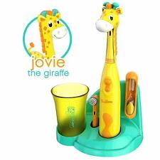 Brusheez Kids Electric Battery Powered Toothbrush Set - Jovie the Giraffe