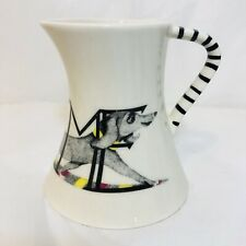Anthropologie Florence Balducci Animal Alphabet Creamer Dachshund Shelf Stock