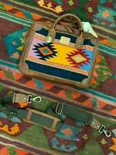 Will Leather Goods Aztec Oaxacan Briefcase  NWT