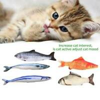 Cat Wagging Fish Realistic Plush Simulation Grass Carp Doll Fish Plush Toy Funny