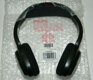 NEW Audiovox MMIRHS Movies 2 Go Wireless IR Infrared Stereo Headphones